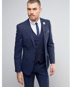 Harry Brown | Donegal Wool Blend Suit Jacket