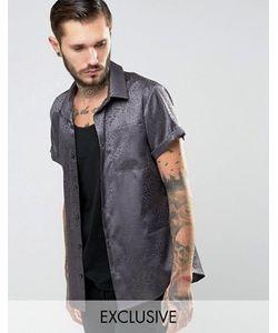 Reclaimed Vintage   Рубашка Классического Кроя Зодиака