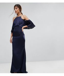 JARLO | Платье Макси С Открытыми Плечами И Годе
