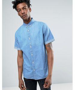 Troy | Джинсовая Рубашка С Короткими Рукавами