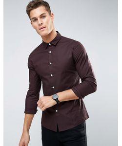 Asos | Строгая Оксфордская Рубашка Скинни