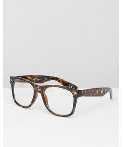 Jeepers Peepers | Черепаховые Очки С Прозрачными Стеклами