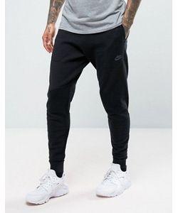 Nike | Черные Суженные Книзу Джоггеры Из Трикотажа Tech 832180-010