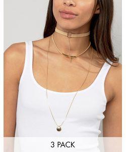 Ashiana | Ожерелье-Чокер В Несколько Рядов
