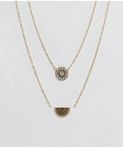 Asos   Набор Из 2 Ожерелий С Подвеской
