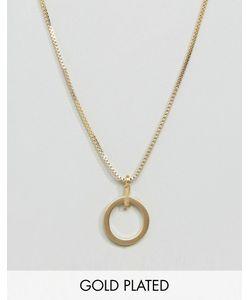 Pilgrim | Позолоченное Ожерелье