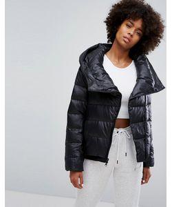 Nike | Длинная Пуховая Куртка С Асимметричной Молнией