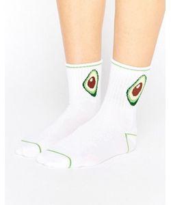 Monki | Avocado Ankle Socks