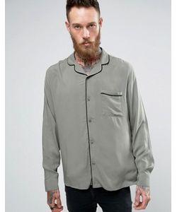 Brooklyn Supply Co.   Рубашка С Отложным Воротником И Окантовкой Brooklyn Supply Co