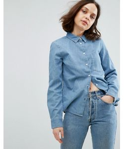 Weekday | Узкая Джинсовая Рубашка