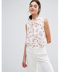 New Lily | Блузка Без Рукавов С Завязкой На Бант Newlily
