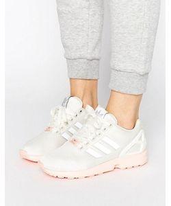 Adidas | Кроссовки С Розовой Подошвой Originals Zx Flux