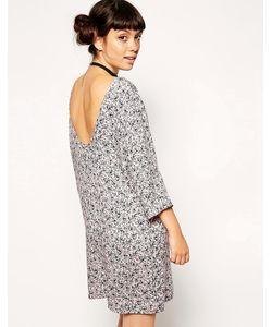 ASOS Collection | Цельнокройное Платье С Глубоким Вырезом На Спине И Цветочным Принтом Asos ReclaimedVintage