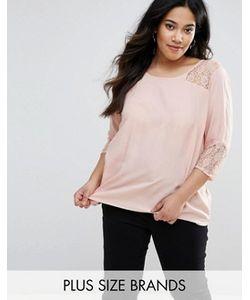 Junarose   Рубашка С Кружевными Вставками Poline