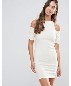 Glamorous | Облегающее Платье С Вырезами На Плечах