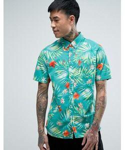 Vans | Голубая Рубашка С Гавайским Принтом Daintree Va315tktm