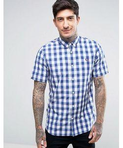 Fred Perry | Рубашка В Клеточку С Короткими Рукавами