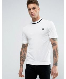 Fred Perry Laurel Wreath | Fred Perry Reissues T-Shirt Pique Tipped In Navy