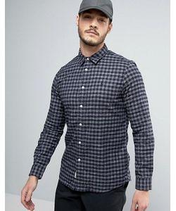 Jack Wills | Фланелевая Рубашка Классического Кроя В Клеточку