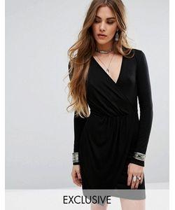 Rokoko | Облегающее Платье С Запахом Спереди