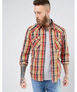 Levi's® | Рубашка В Стиле Вестерн Levis Barstow Tambour Cherry Bomb