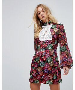 Millie Mackintosh   Платье Мини С Принтом