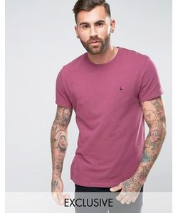 Jack Wills | Elvaston Pique T-Shirt In Berry