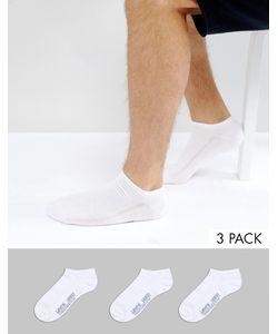 Levi's® | Набор Из 3 Пар Белых Спортивных Носков