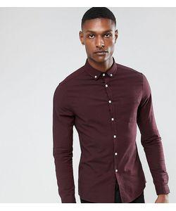 Asos | Приталенная Оксфордская Рубашка Tall