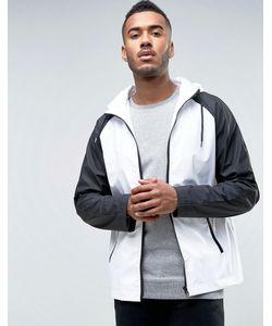 D-Struct | Водонепроницаемая Монохромная Куртка С Капюшоном