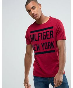 Tommy Hilfiger | Футболка C Большим Логотипом Denim