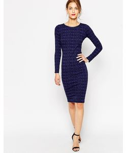 Lulu & Co | Облегающее Платье Миди Lulu Co