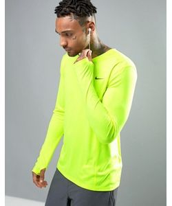 Nike Running | Лонгслив Из Быстросохнущей Ткани Dri-Fit Miler 683570-702