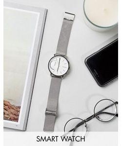 Skagen | Серебристые Строгие Часы С Сетчатым Ремешком Hagen
