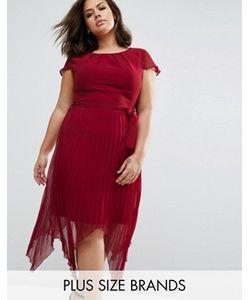 Praslin | Платье Размера Плюс С Короткими Рукавами
