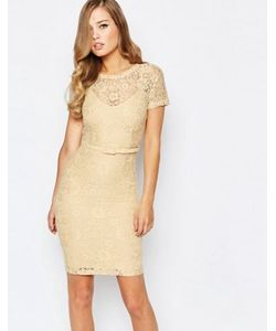 Body Frock | Кружевное Платье Лимонного Цвета Anya