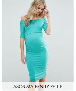 ASOS Maternity   Платье С Укороченными Рукавами Petite