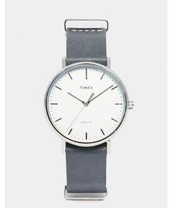 Timex | Часы С Черным Кожаным Ремешком Weekender Fairfield Tw2p91300
