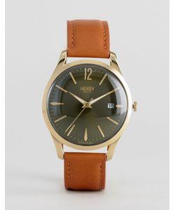 Henry London | Часы Со Светло-Коричневым Кожаным Ремешком Chiswick