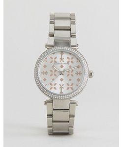 Michael Kors | Серебряные Часы С Деталями Из Розового Золота Mini Parker