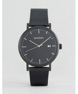 Sekonda | Черные Часы С Серебристым Циферблатом Эксклюзивно Для