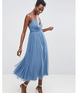 Asos | Платье Миди Из Тюля