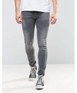 Nudie Jeans Co | Выбеленные Джинсы Скинни Lin