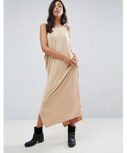 NYTT | Low Side Drapey Maxi Dress