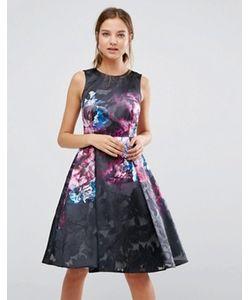 Coast | Короткое Приталенное Платье С Принтом