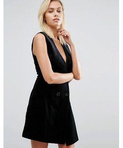 Greylin | Бархатное Платье Под Смокинг Thompson