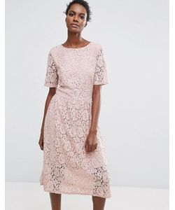 Selected | Кружевное Платье Femme Rose