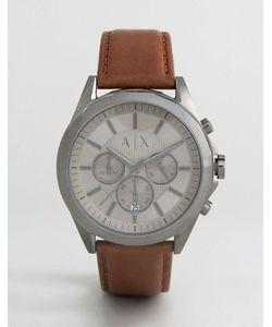 ARMANI EXCHANGE   Часы С Хронографом И Кожаным Ремешком Ax2605 Эксклюзивно Для