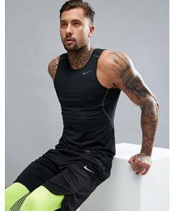 Nike Training   Черная Майка Hypercool Compression 801248-010