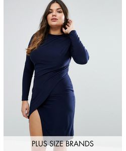 Club L Plus   Платье С Запахом